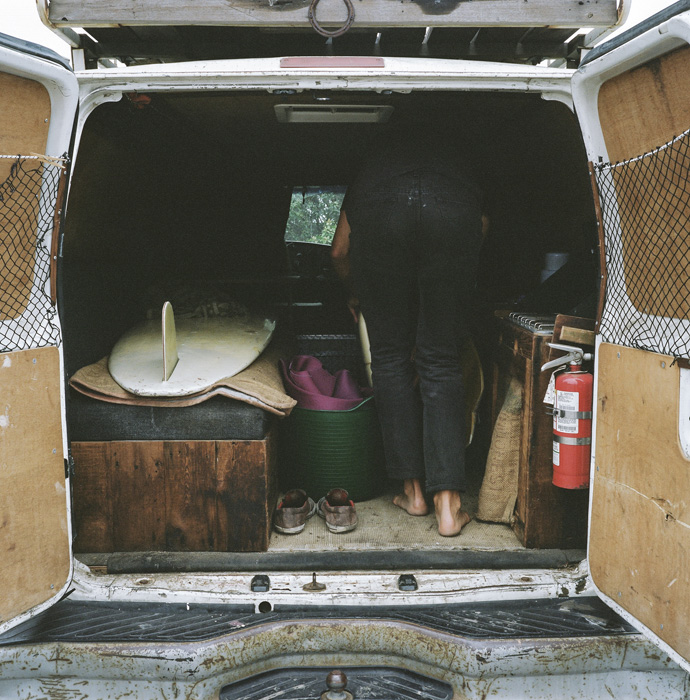Foster Huntington Stopped Working For The Man And Started Living In A Van Vice